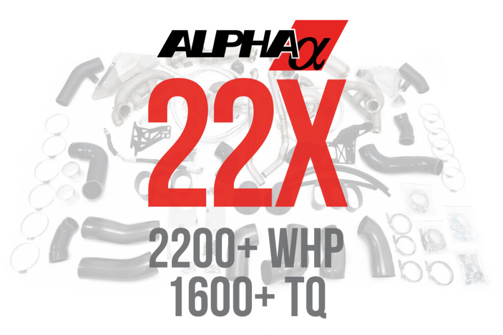 Alpha 22x R35 GTR Turbo Kit