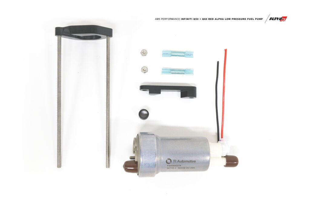 AMS Performance Q50/Q60 Red Alpha Low Pressure Fuel Pump Upgrade