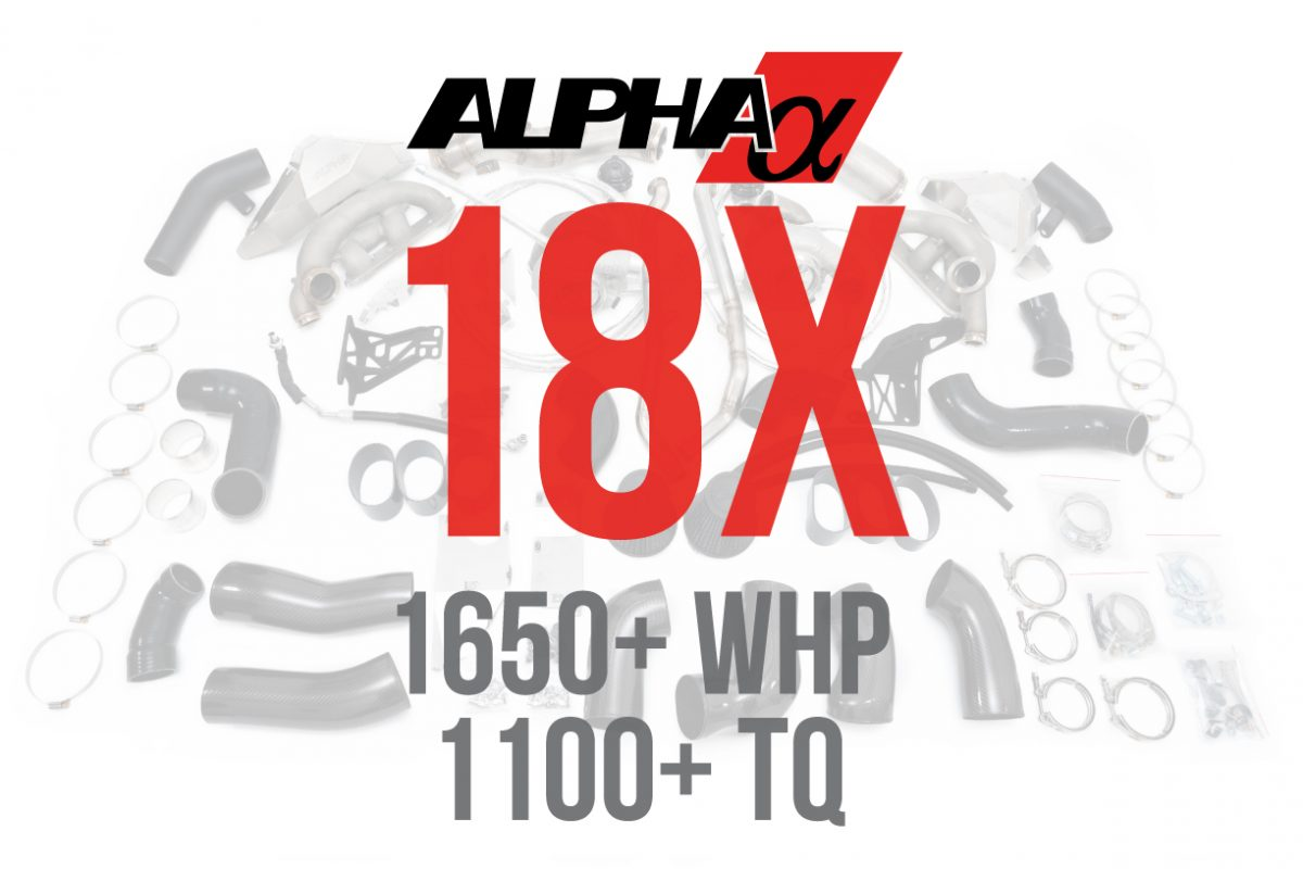 Alpha 18x R35 GTR Turbo Kit